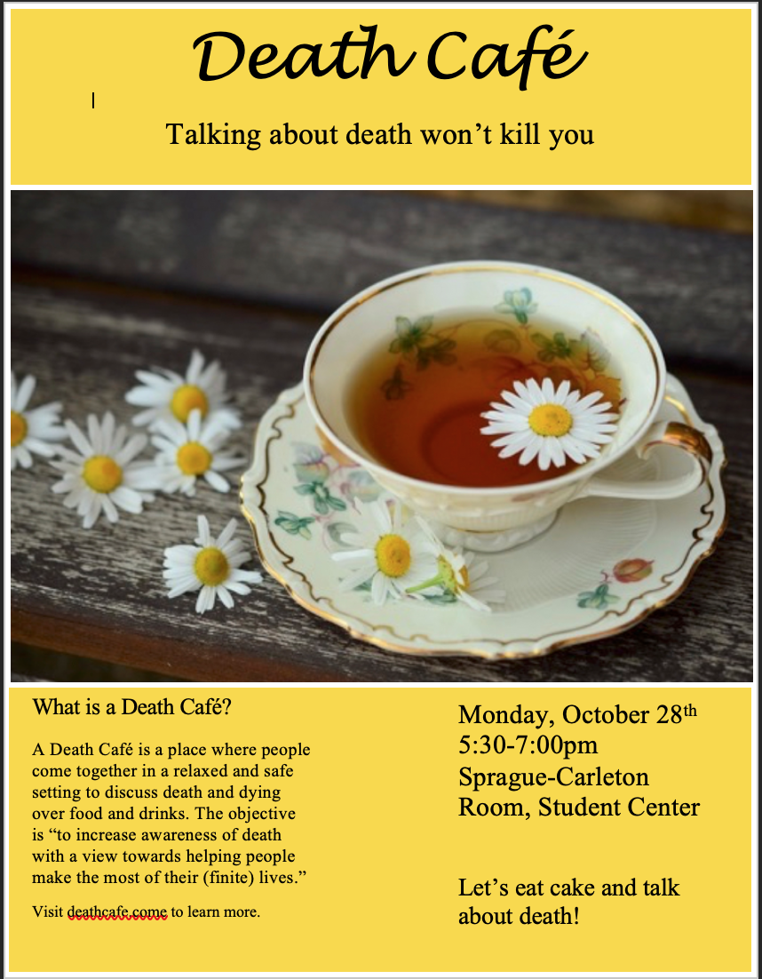 College Death Cafe New Britain