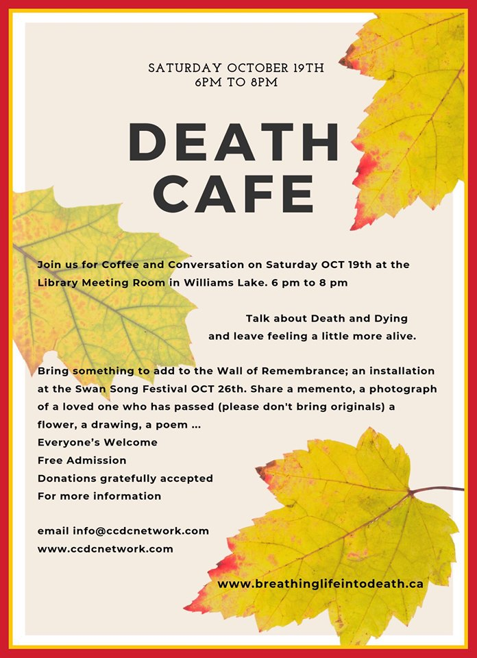 Death Cafe Williams Lake