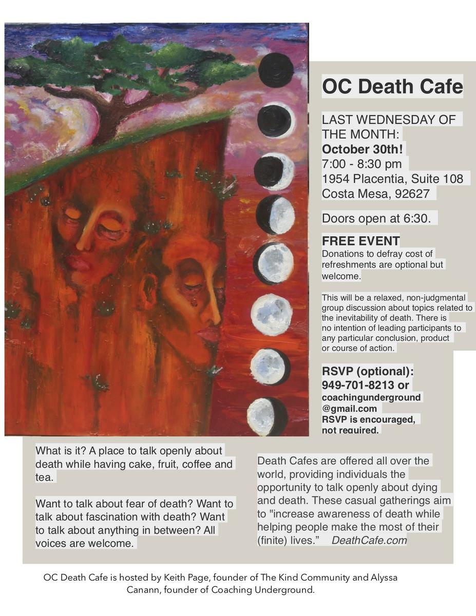 OC Death Cafe Costa Mesa
