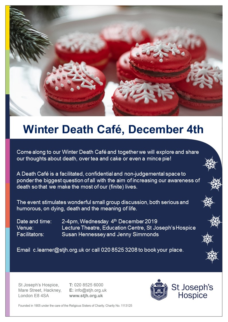 Winter Death Cafe Hackney