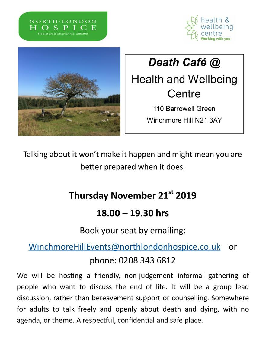 North London Hospice Death Cafe