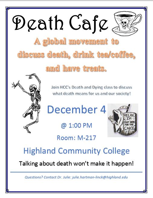 Highland Community College Death Cafe
