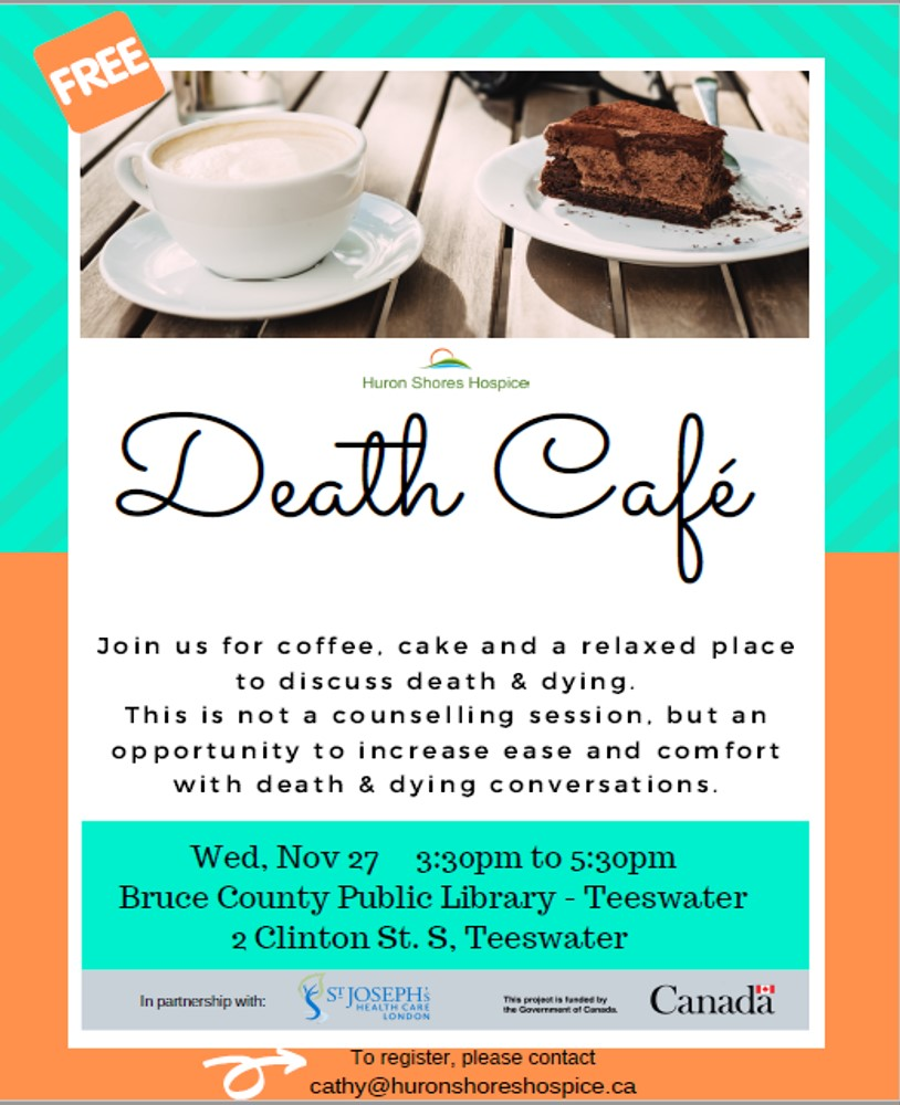 Death Cafe Teeswater
