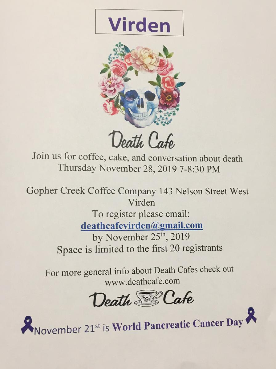 Virden Death Cafe