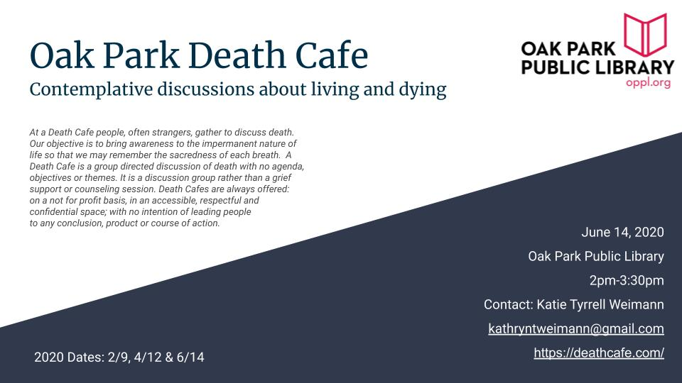 Oak Park Death Cafe