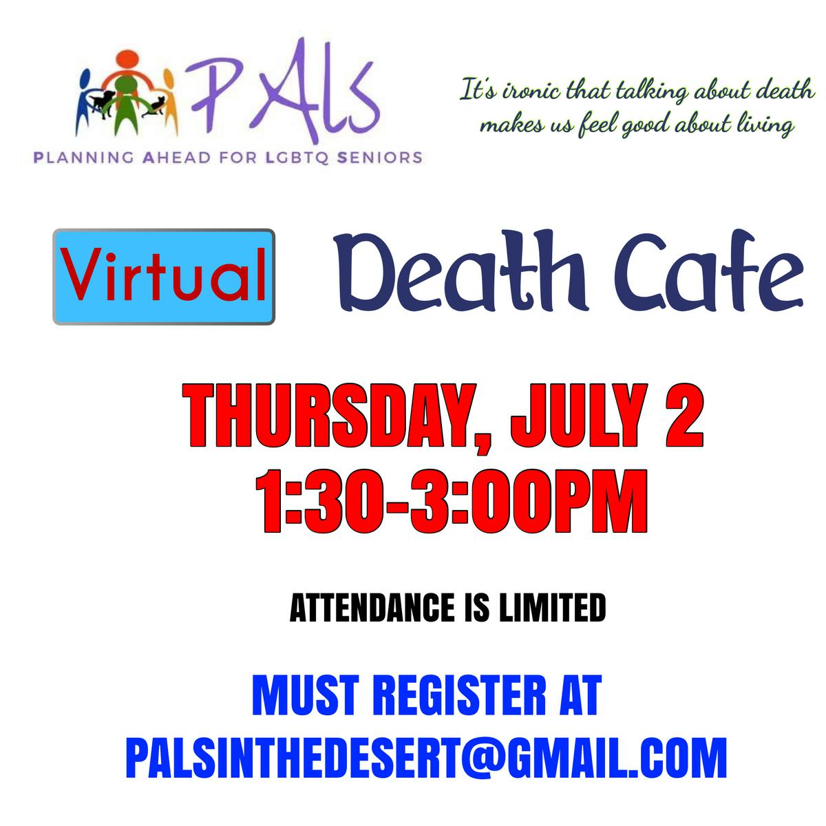 VIRTUAL Death Cafe Palm Springs