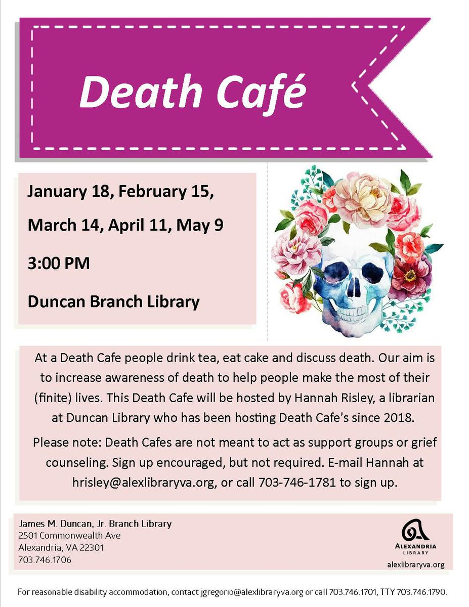 Death Cafe Alexandria