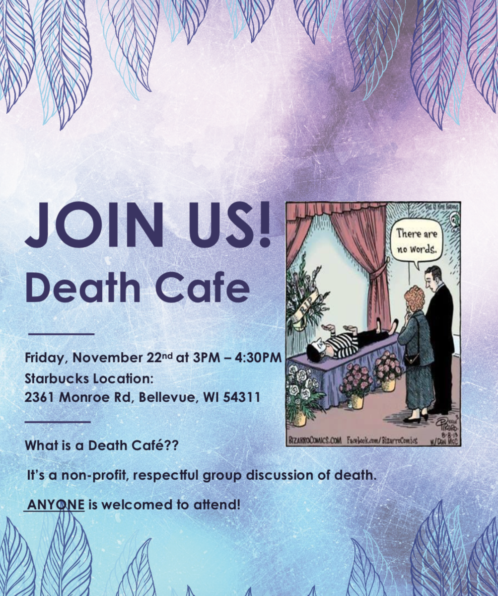 Join our Death Cafe Bellevue WI
