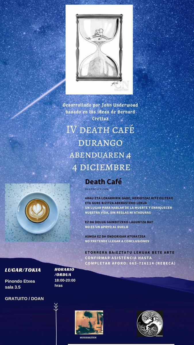 IV Death Cafe Durango