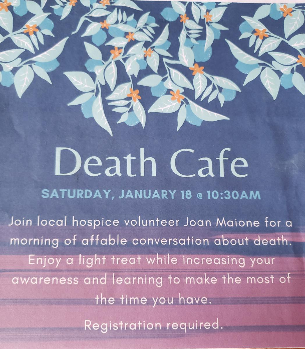 Death Cafe Merrimack, NH
