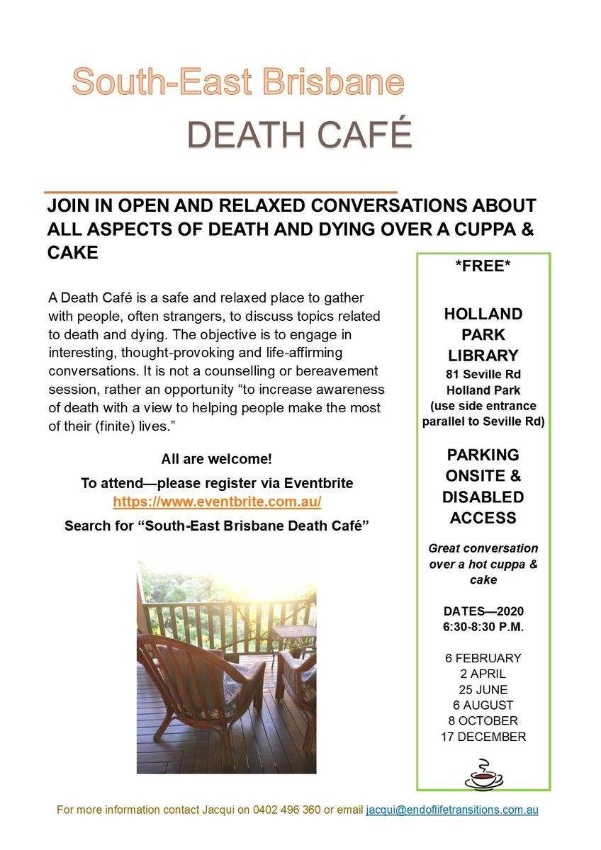 South-East Brisbane Death Cafe
