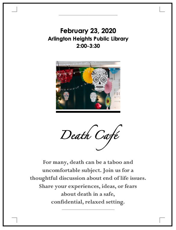Death Cafe Arlington Heights