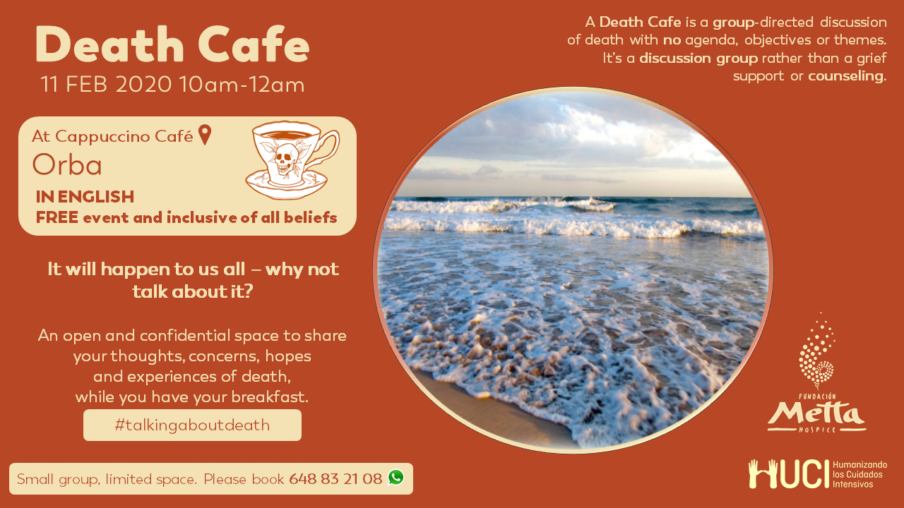 Death Cafe en Orba, Alicante (ENGLISH)