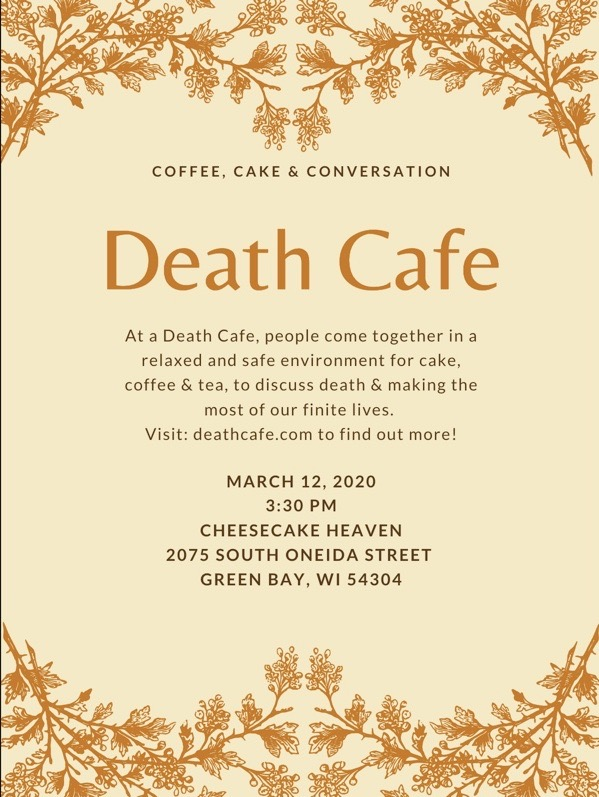Death Cafe green Bay