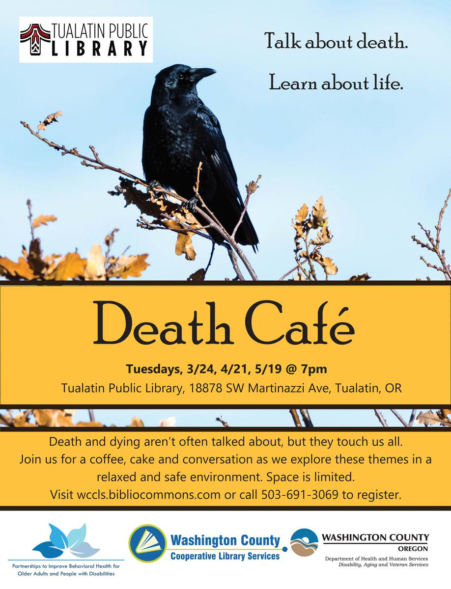 Tualatin Library Death Cafe