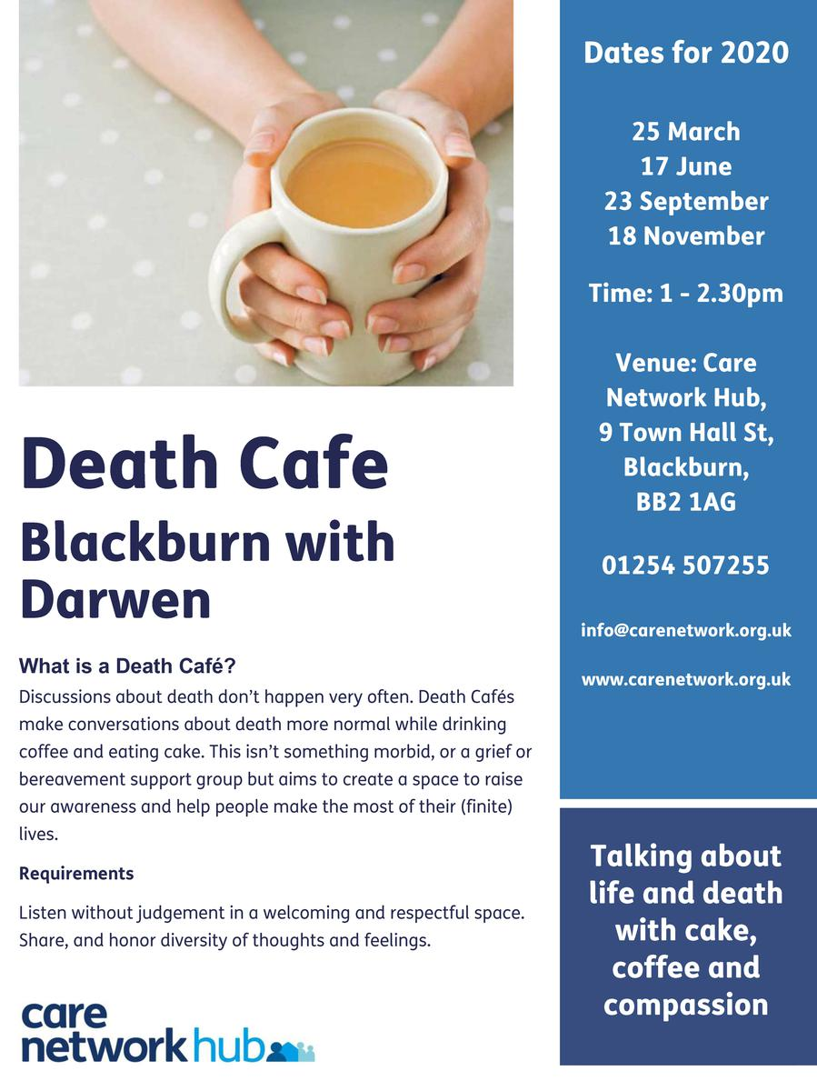 Death Cafe Blackburn with Darwen