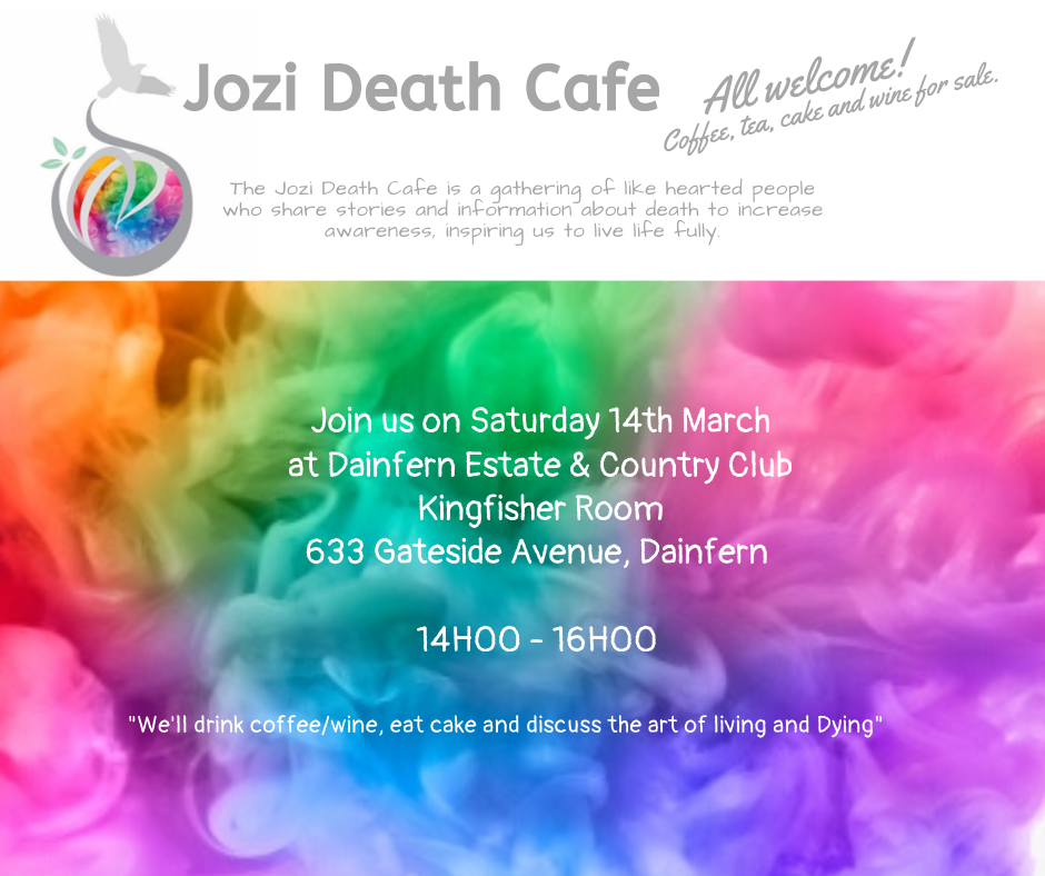 Jozi Death Cafe March 2020