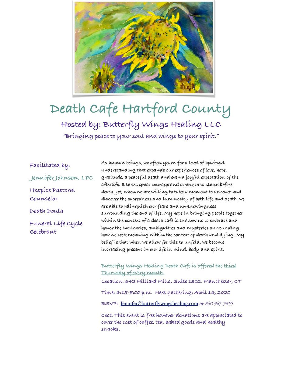 Death Cafe Hartford County