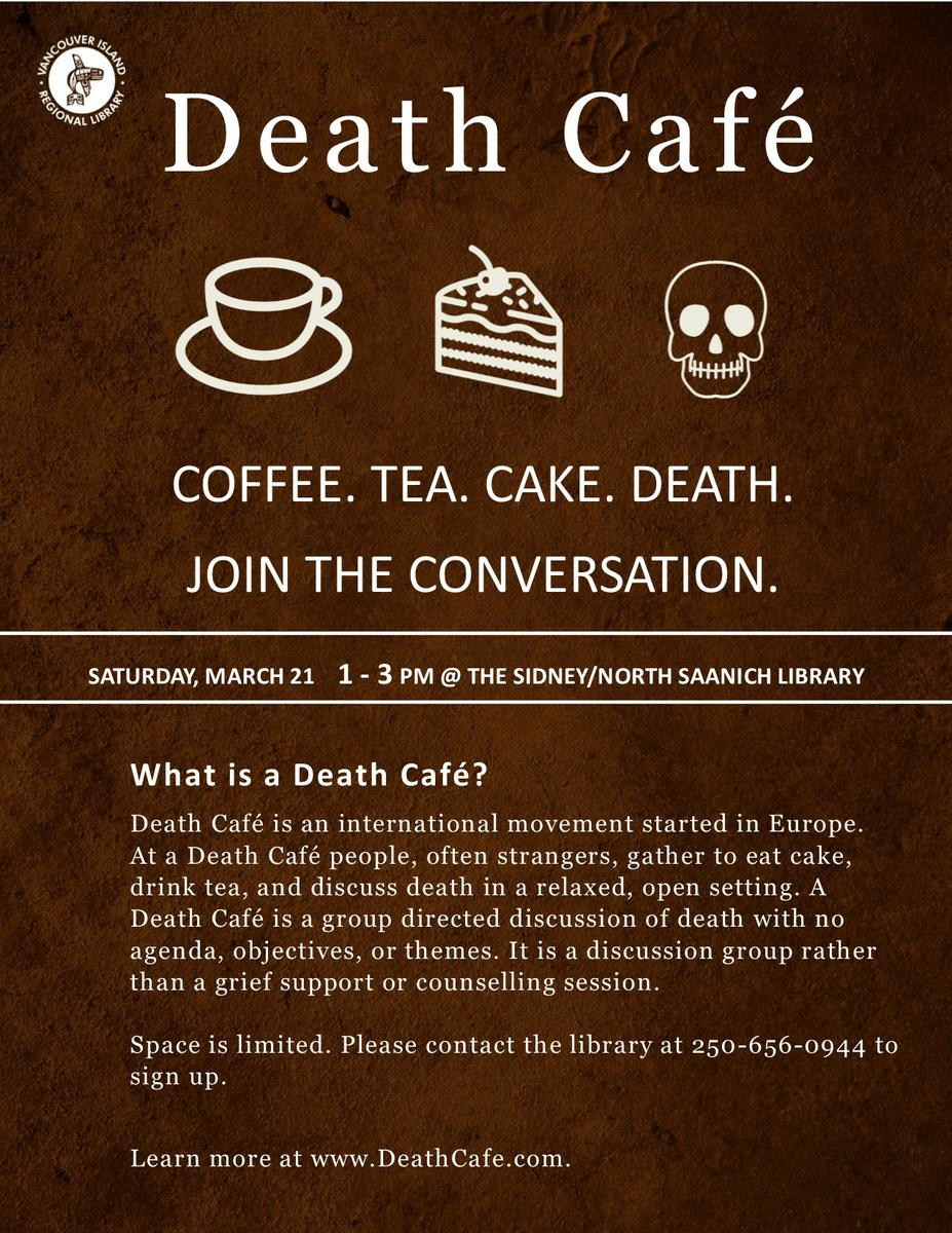 Death Cafe Sidney BC