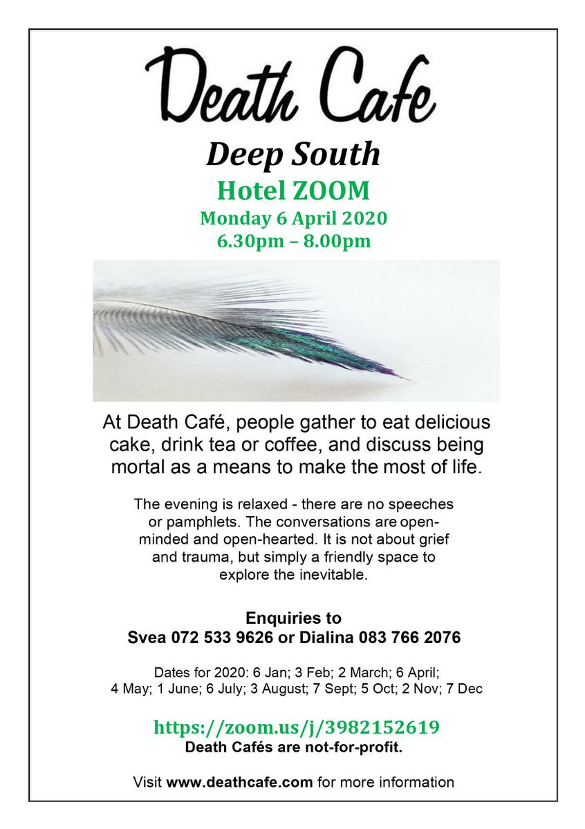 Online Death Cafe - Deep South-South Africa
