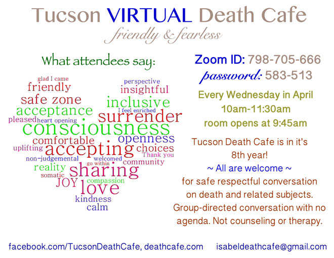 Tucson Friendly & Fearless Death Cafe