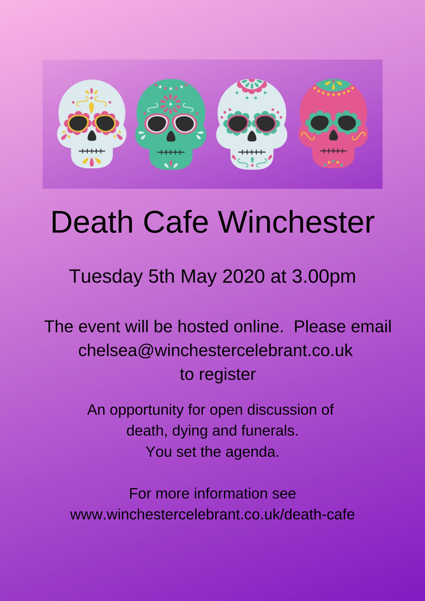 Death Cafe Winchester Online Event