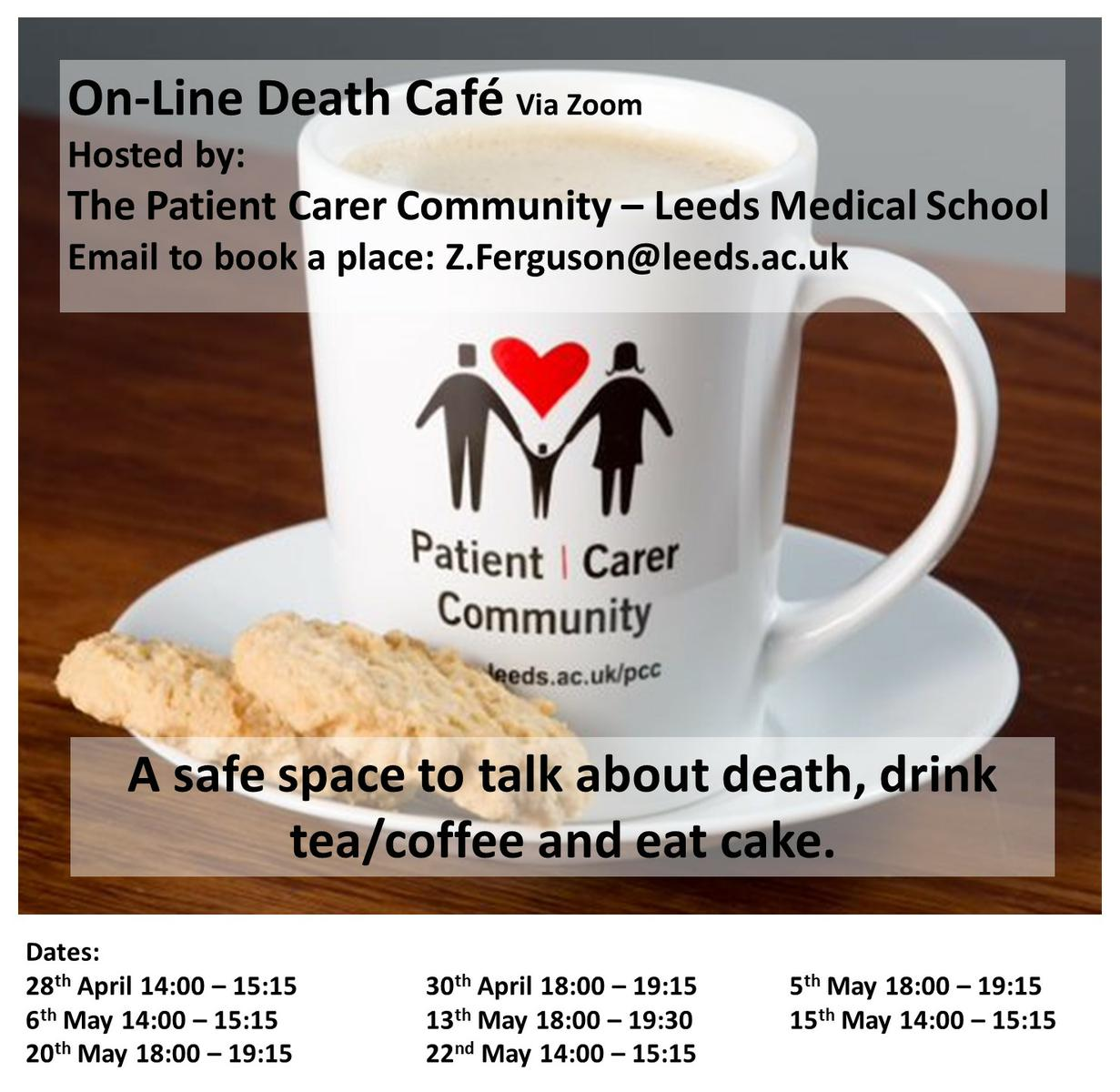 On-Line Death Cafe in West Yorkshire