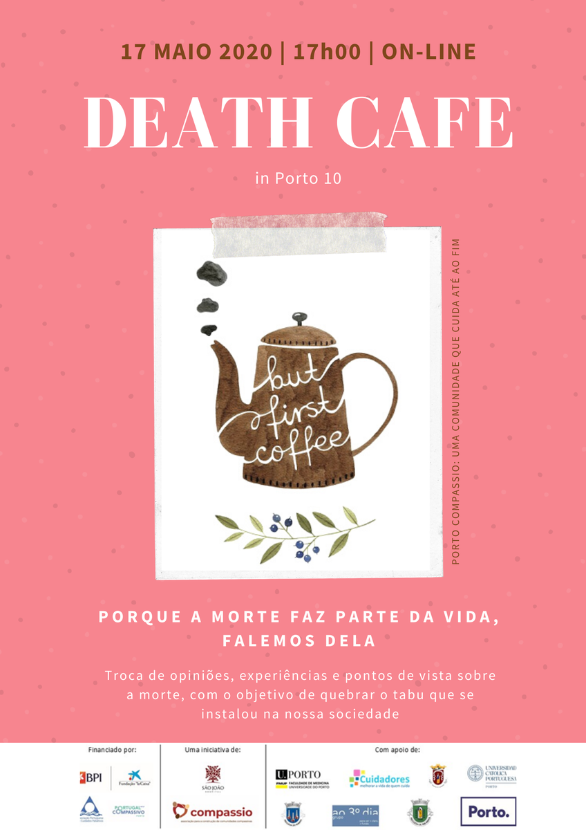 Online Death Cafe in Porto 10 CEST