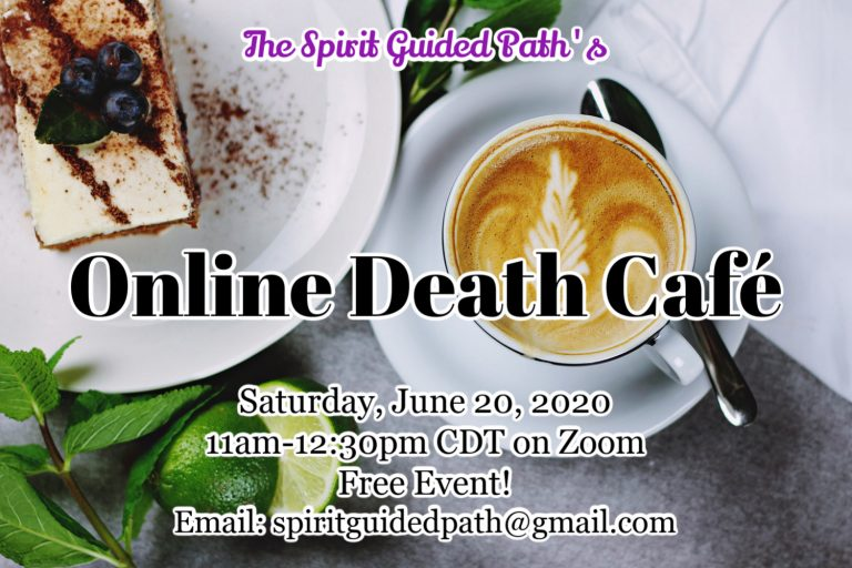 Online Death Cafe CDT