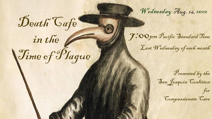 (Online PST) Death Cafe in the Time of Plague