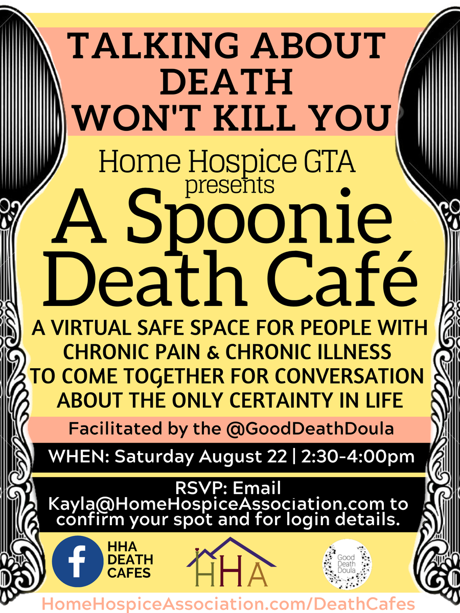 Spoonie Death Cafe: For People with Chronic Pain/Illness