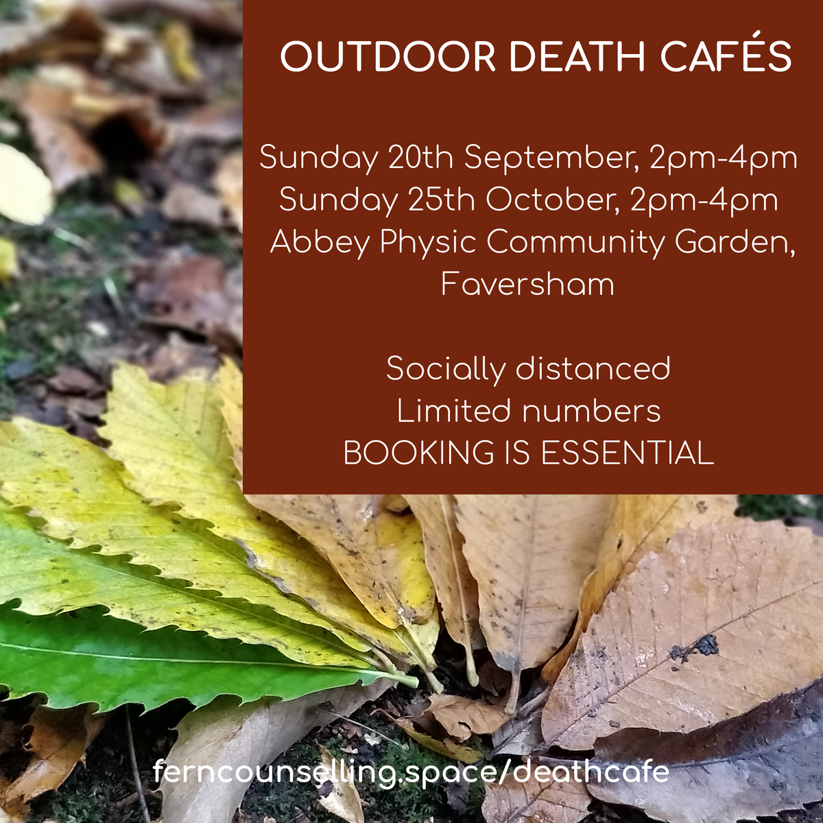 Faversham OUTDOOR Death Cafe