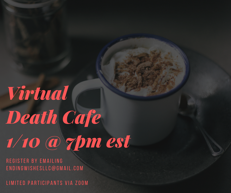 Virtual Death Cafe EST