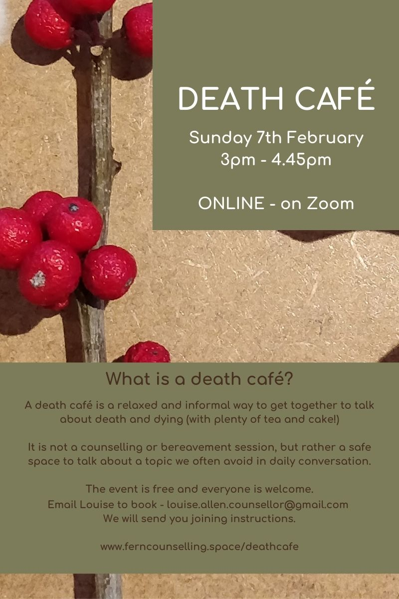 Faversham Online Death Cafe GMT