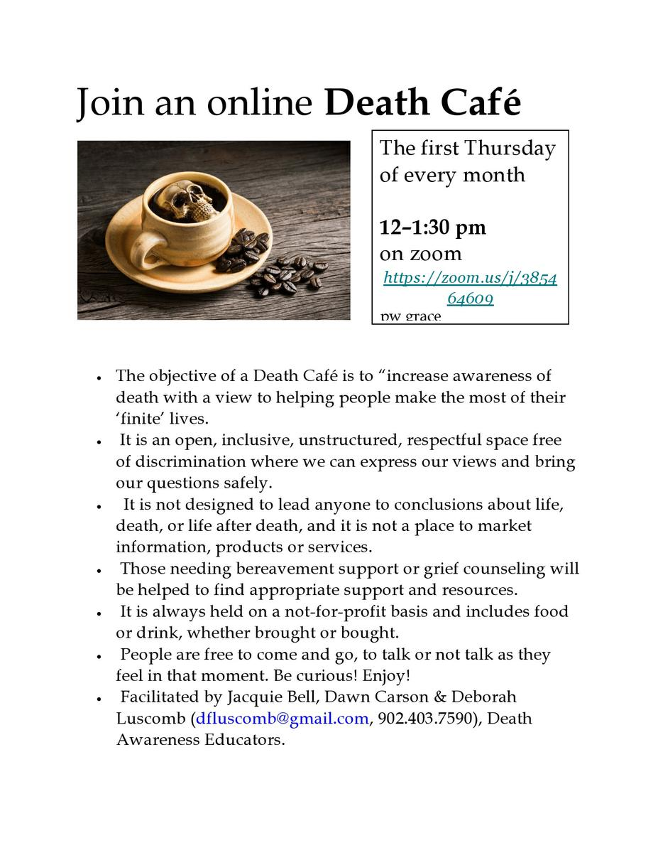 Death Cafe Online AST