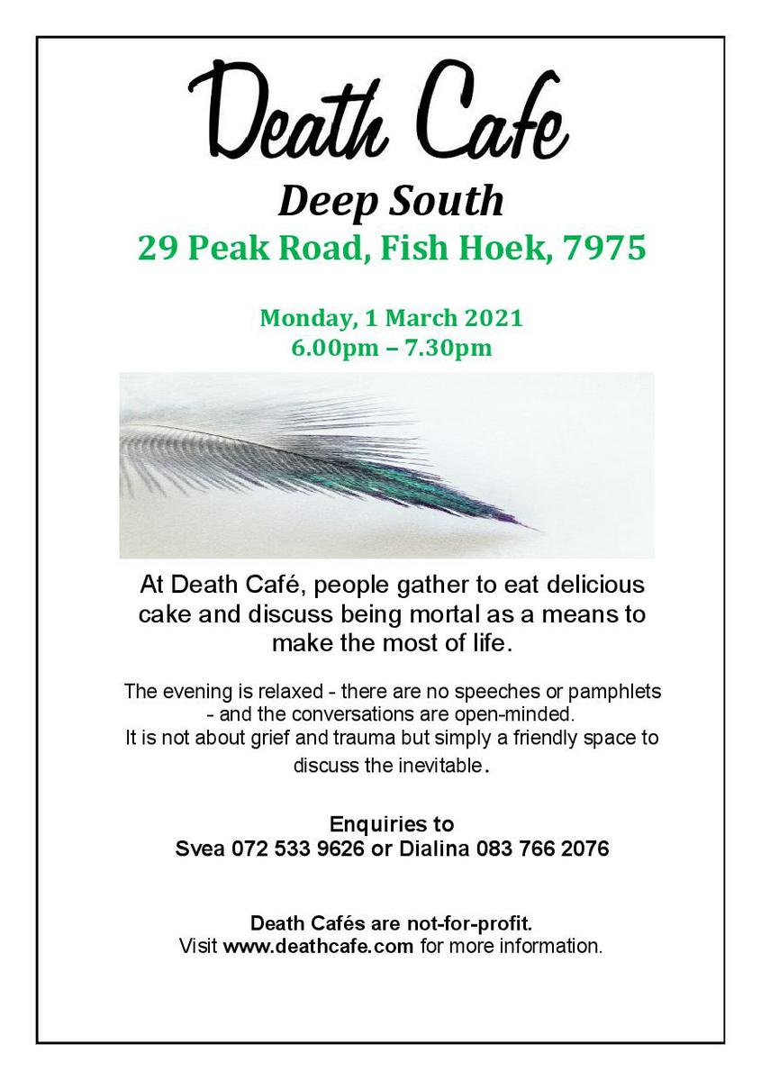Death Cafe Deep South - South Africa