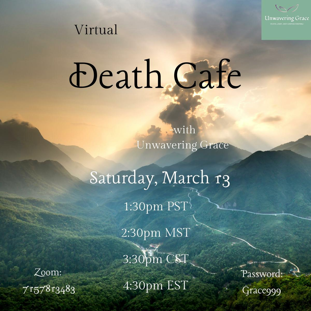 Online Death Cafe PST