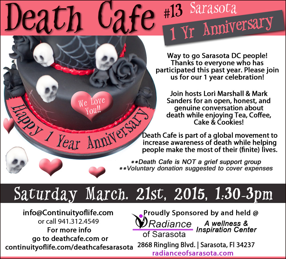 Sarasota Death Cafe #13