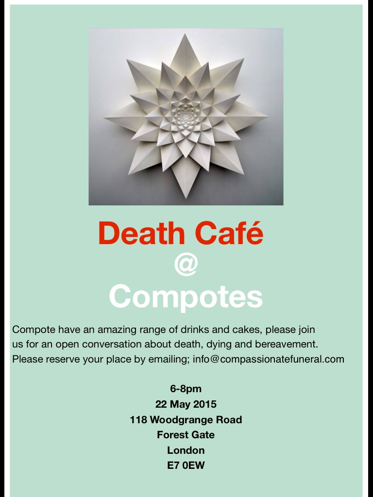 Death Cafe in East London