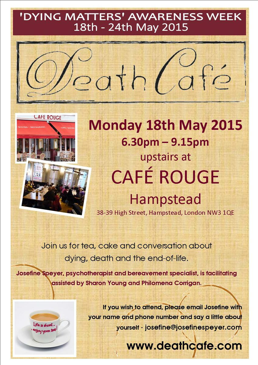 22nd Death Cafe Hampstead, London, UK