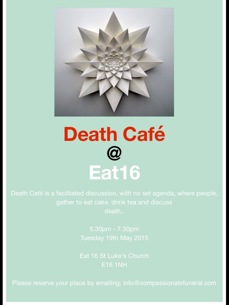 Death Cafe in Canning Town, London