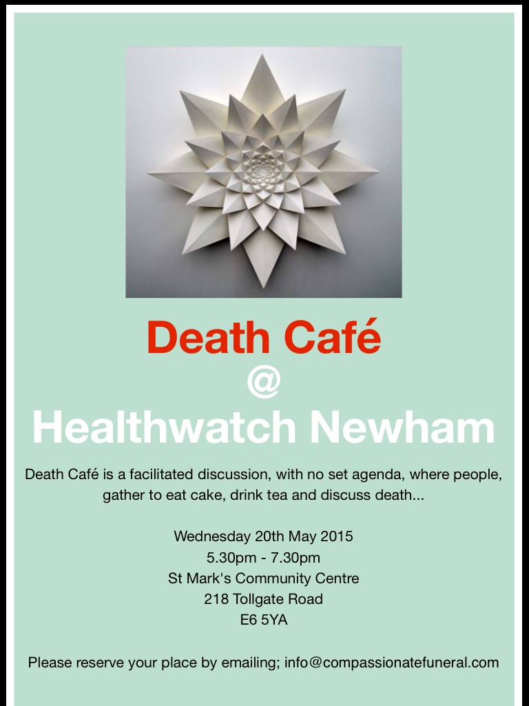 Death Cafe in Newham