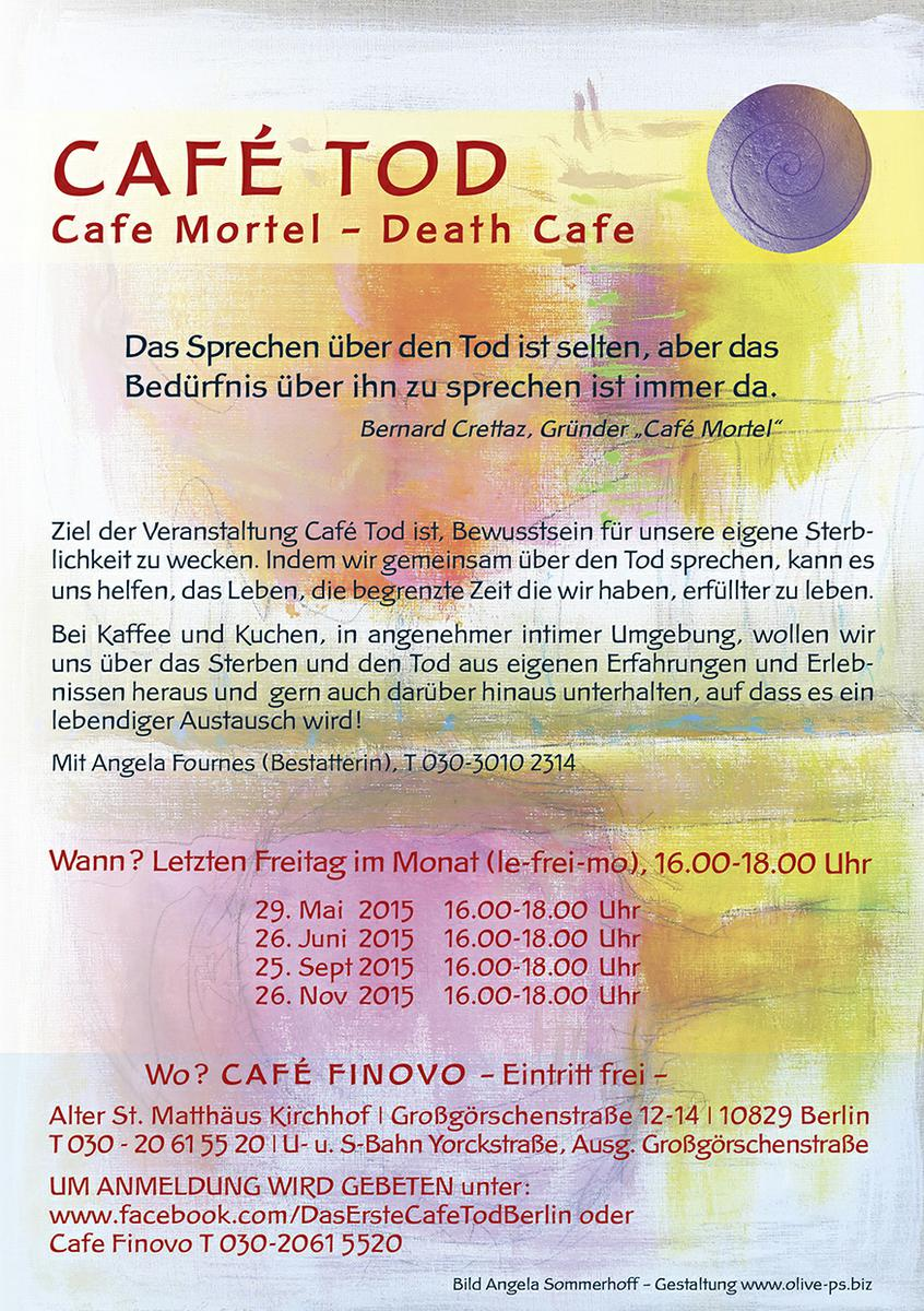 Cafe Tod Berlin / Death Cafe/Cafe Mortel