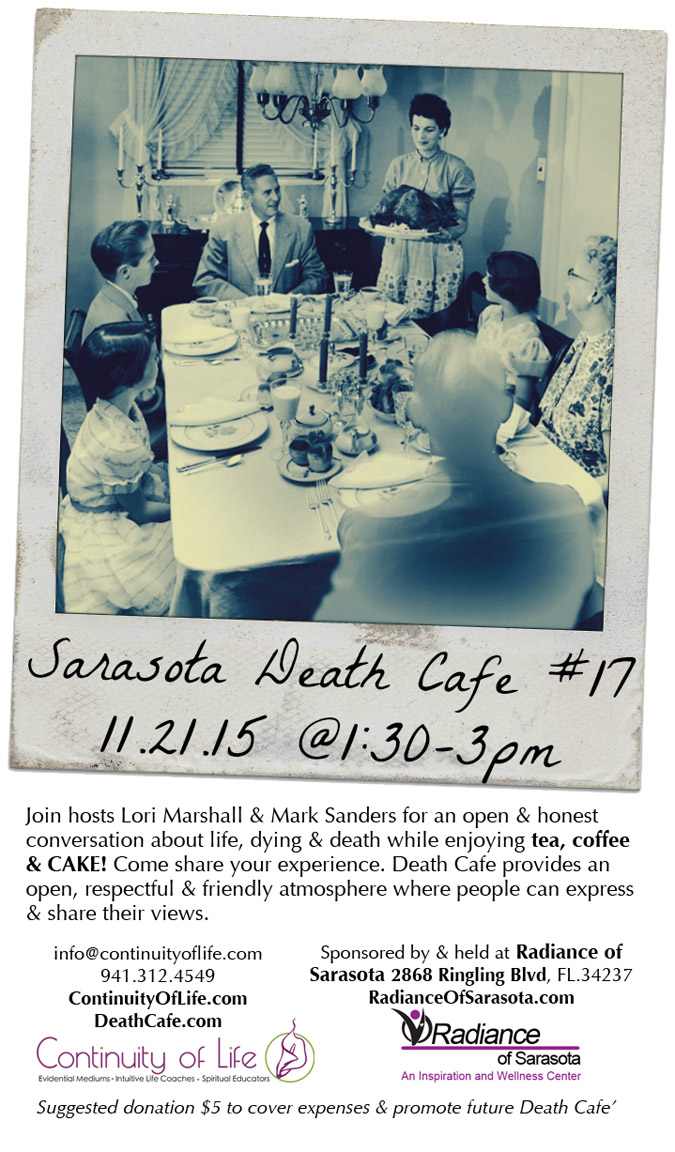 Sarasota Death Cafe #17