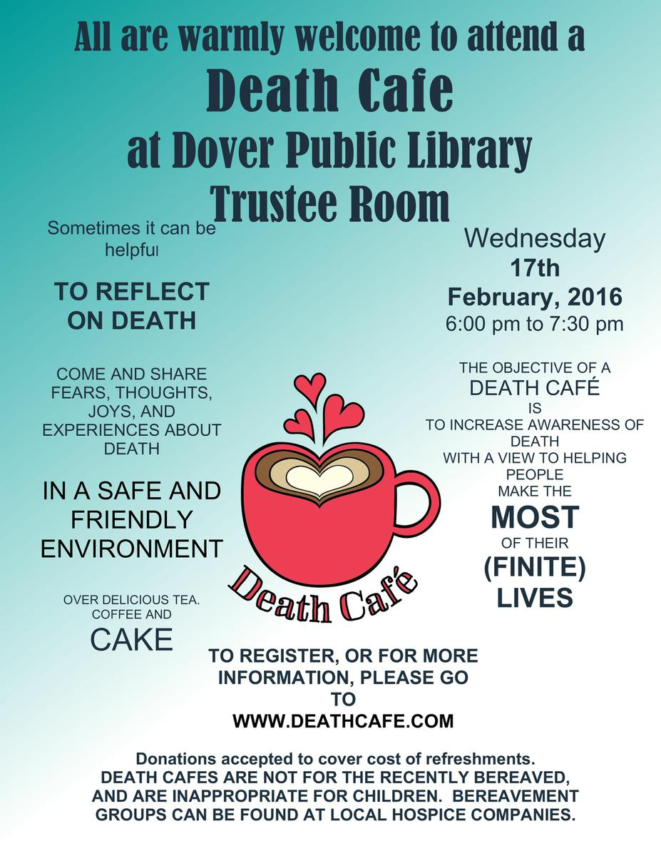 Dover NH Death Cafe