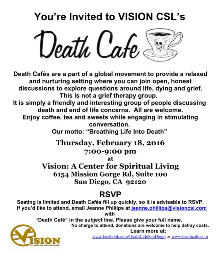 Death Cafe Mission Valley East