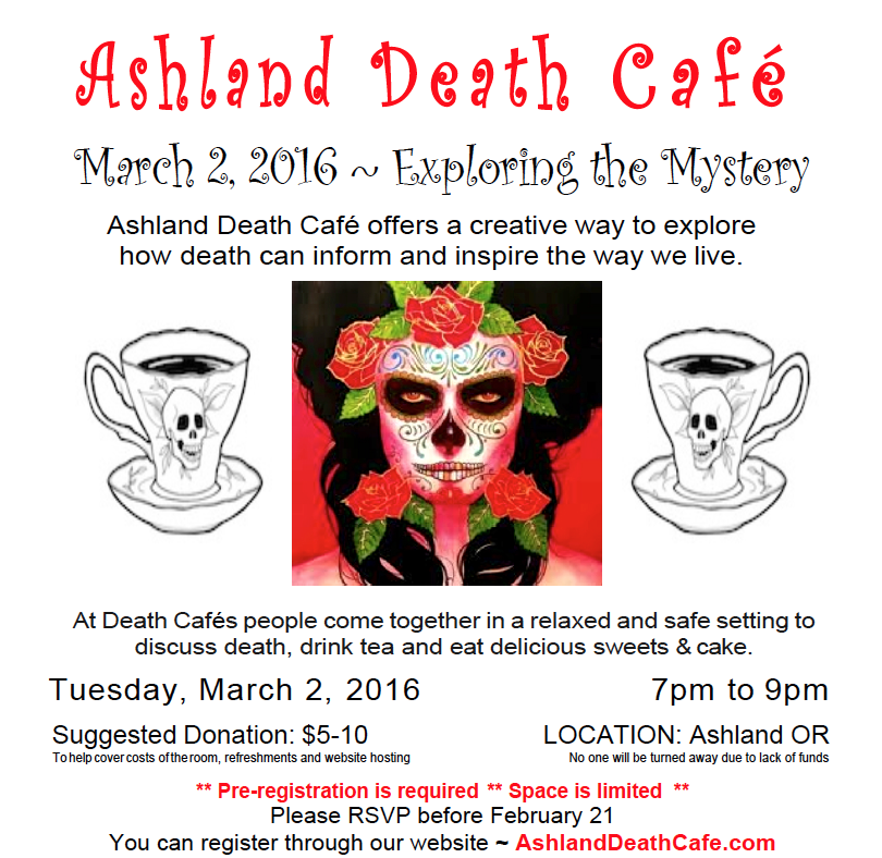 Ashland Death Cafe