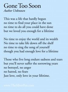 gone too soon sad quotes