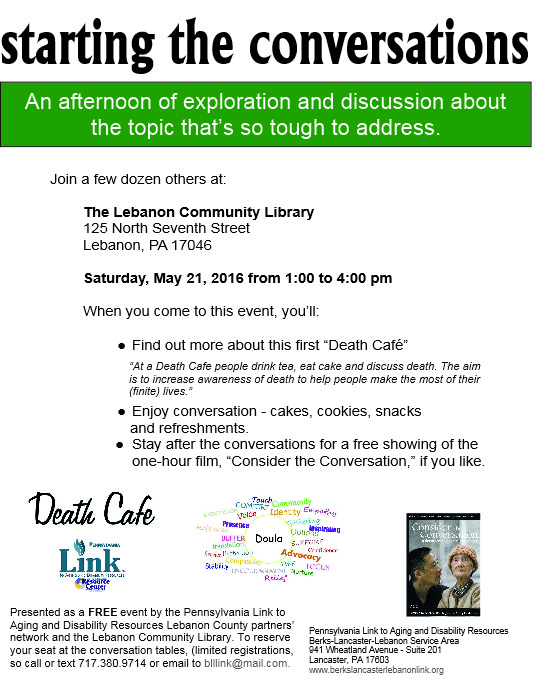 Lebanon County Death Cafe