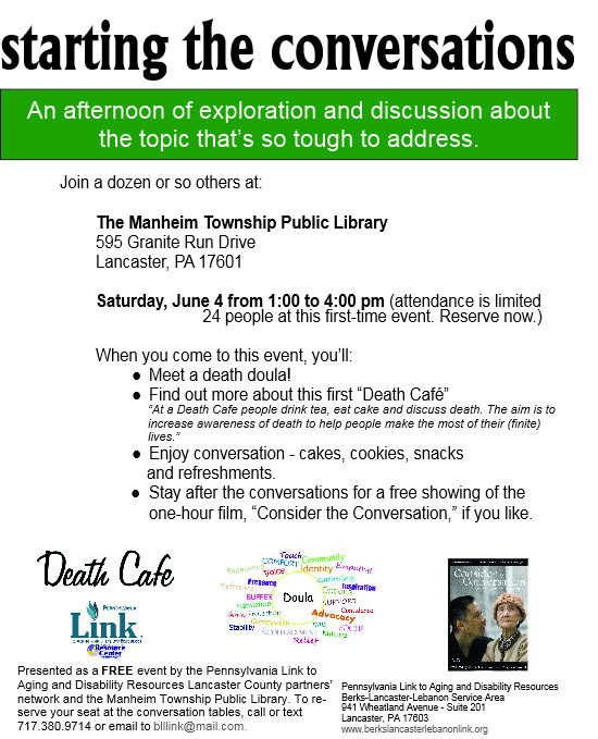 Lancaster County Death Cafe